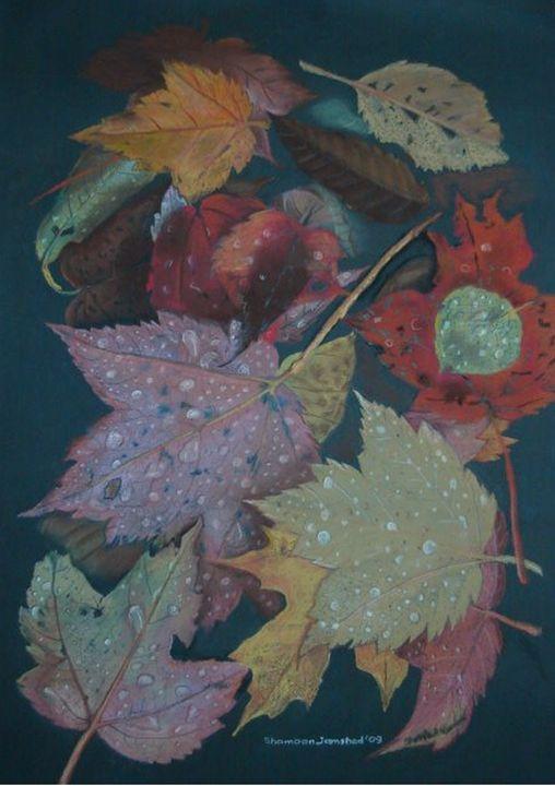 Autumn leaves - Paintings