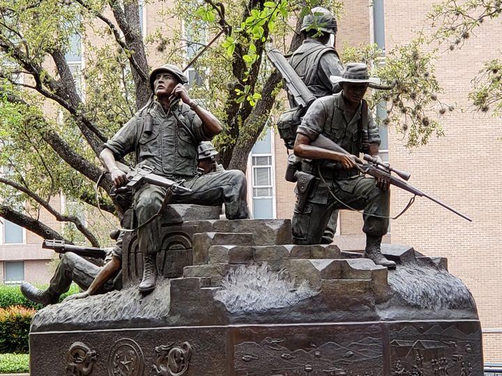 Soldier memorial - Ricardo E. Delvalle