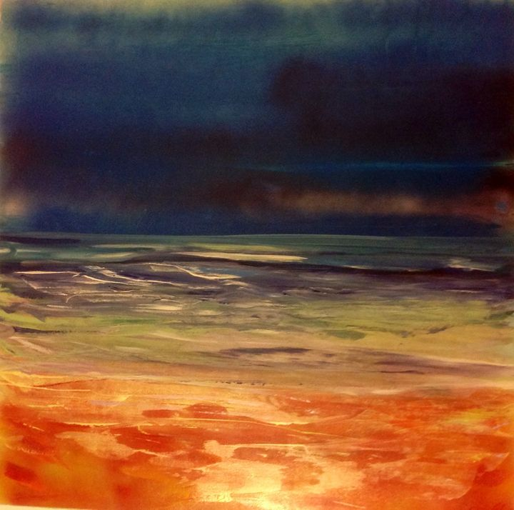 Sea at night - Bridgewater Eccles