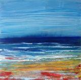 Sea scape shore