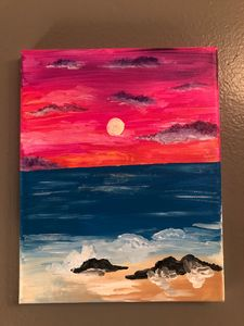 Sunset Beach Artwork