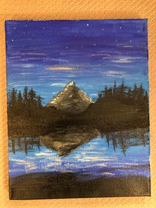 Mountian Painting