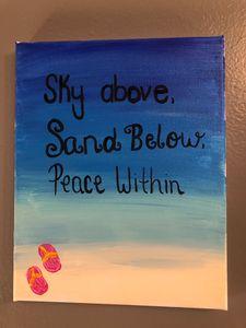 Sand, Sky, Peace