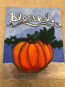 Blessed painting