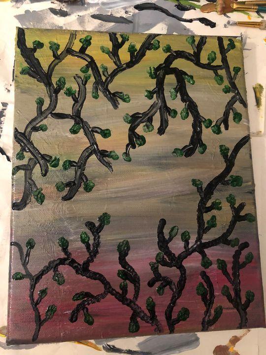 Vine painting - Kaylee K Paintings