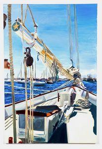 sailing away today