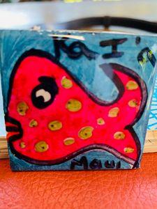 Original Art Magnet made on Maui