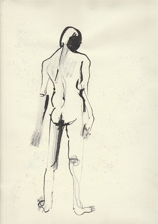 13.03.2015 Figure Drawing - Tauno Ostra