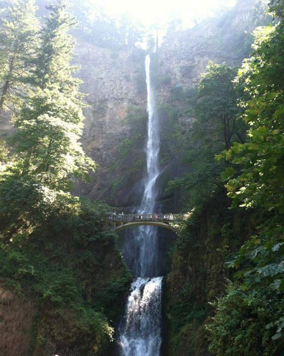 Multnomah Falls - Inspired to be