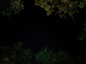 Lot at night