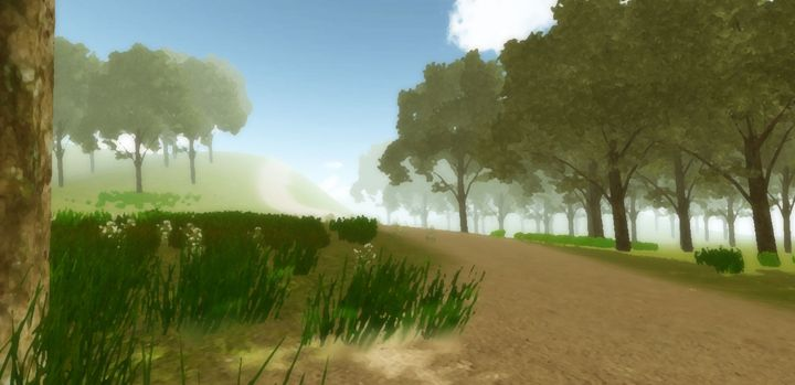 Along the Dirt Path - Sen Li