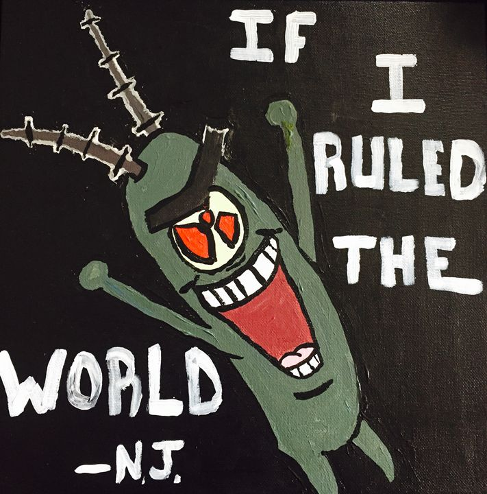 Plankton/Nas - Jon Hoff Art