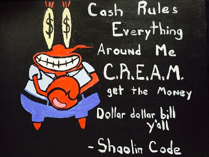 Mr. Crabs/ Wu-Tang - Jon Hoff Art