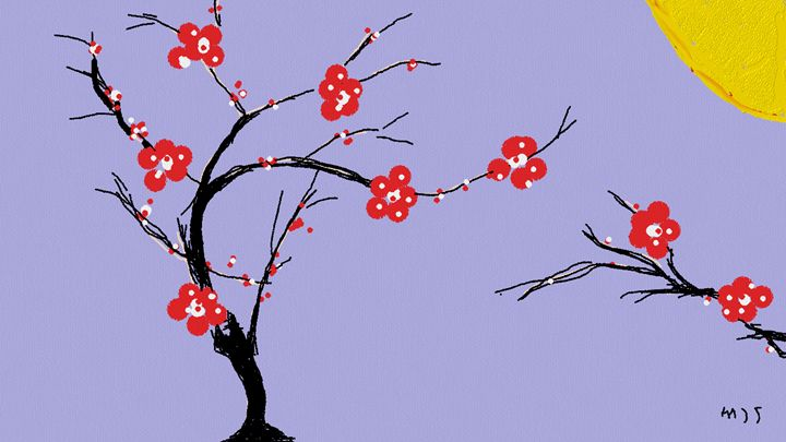 'Blossom Tree' - mjs