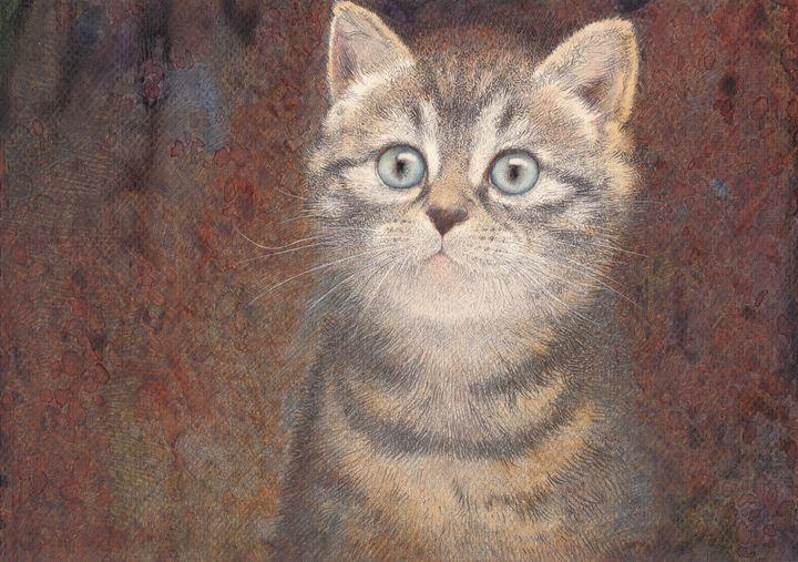 Kitty - Irshi watercolors