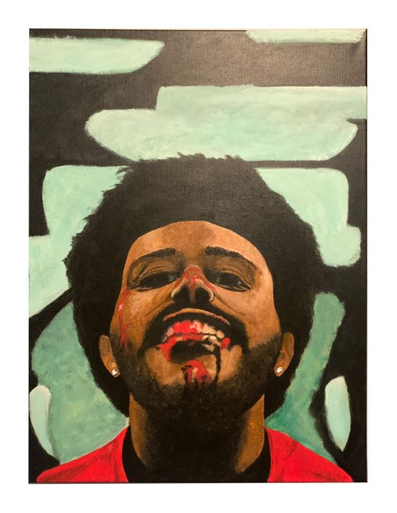 """The Weeknd """"After Hours"""" 18""""x24"""" - Double J Studio"""