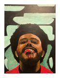 Original The Weeknd Painting