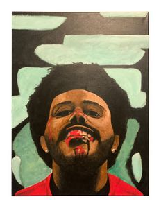 """The Weeknd """"After Hours"""" 18""""x24"""""""