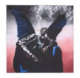 """Birds Dropped 12""""x12"""" Painting"""
