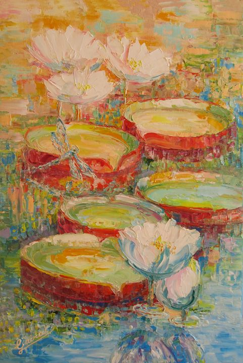 """On the pond"" - Galya Gairai"