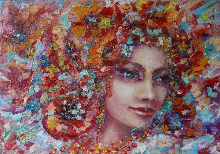"""Flower Carnival"" - Halyna Luzhevska (Gairai)"