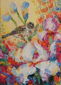 """ First flight "" - Halyna Luzhevska (Gairai)"
