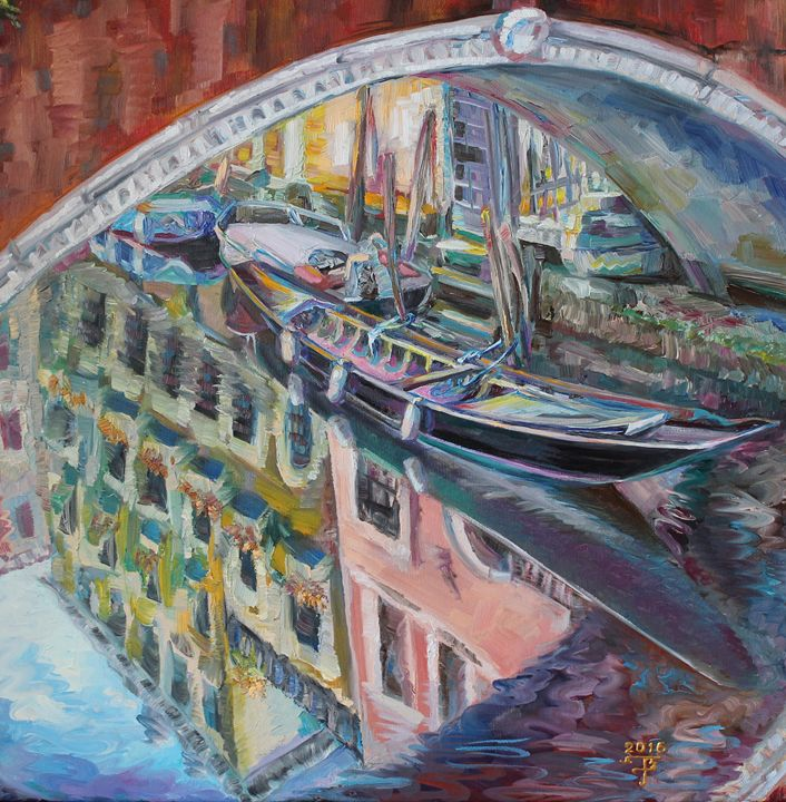 """Reflected in water"" - Halyna Luzhevska (Gairai)"