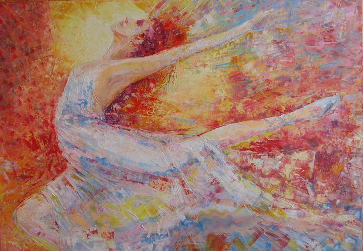 """ Ballet "" - Halyna Luzhevska (Gairai)"