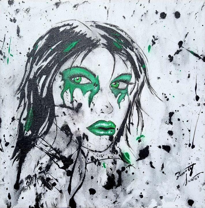 Green eyes - T. Smith, Artist
