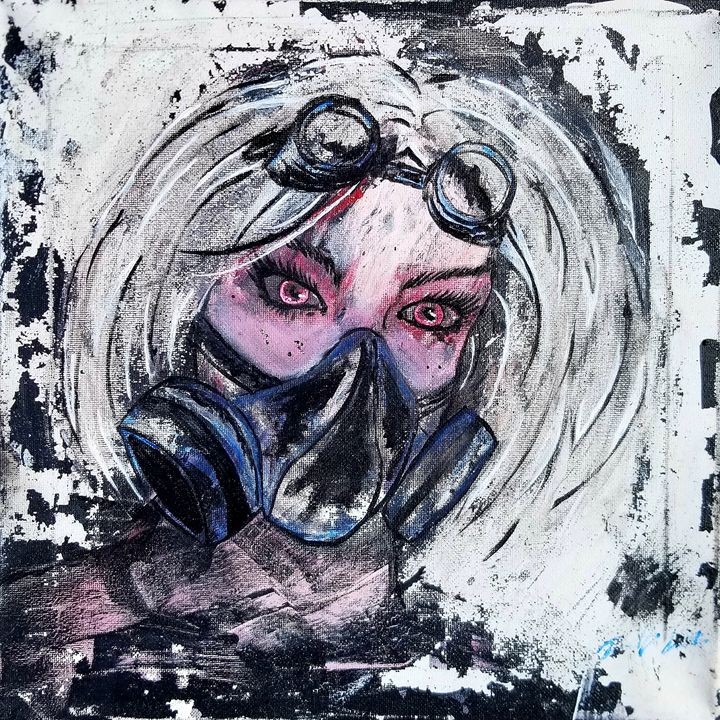 Lady fallout - T. Smith, Artist
