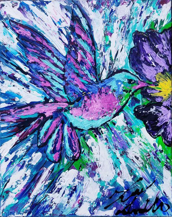 Hummingbird - T. Smith, Artist
