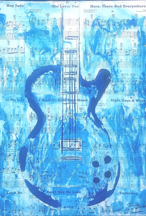 The blue - T. Smith, Artist