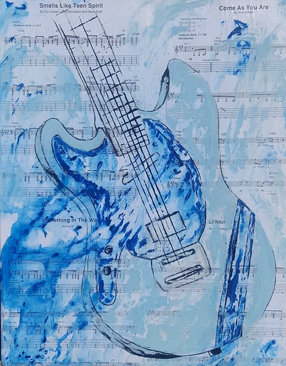 Blue guitar - T. Smith, Artist