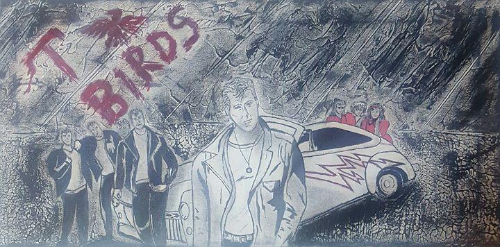 T-birds - T. Smith, Artist