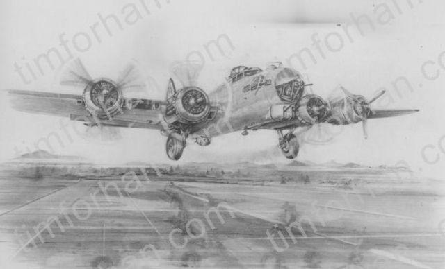 B-17 909 - Tim Forhan Art Gallery