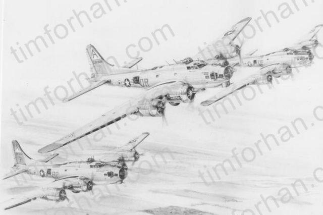 3 B-17 - Tim Forhan Art Gallery