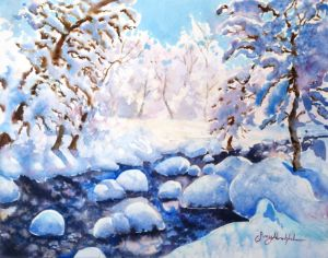 Mini Snow painting