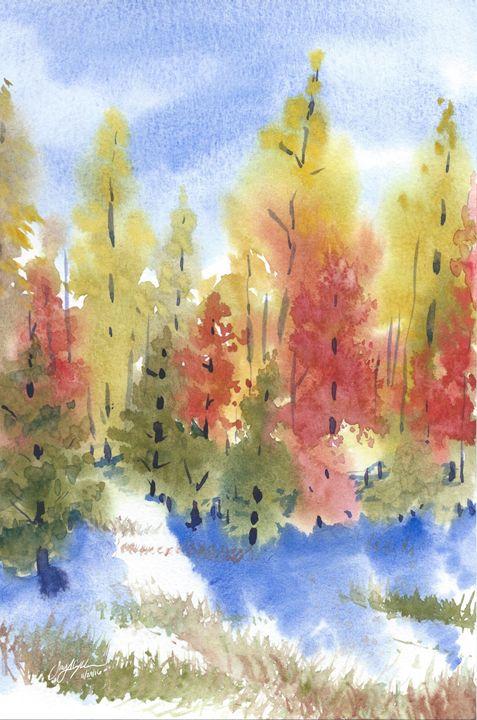 November Leaves - Suzys Art