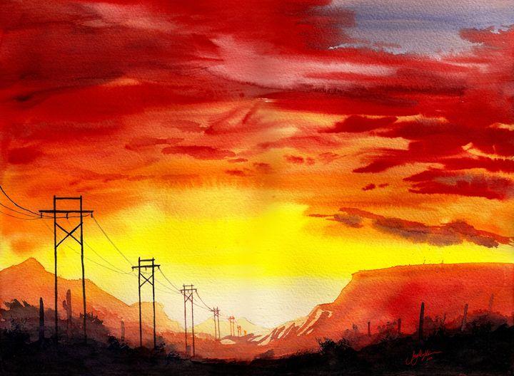 Power Lines - Suzys Art