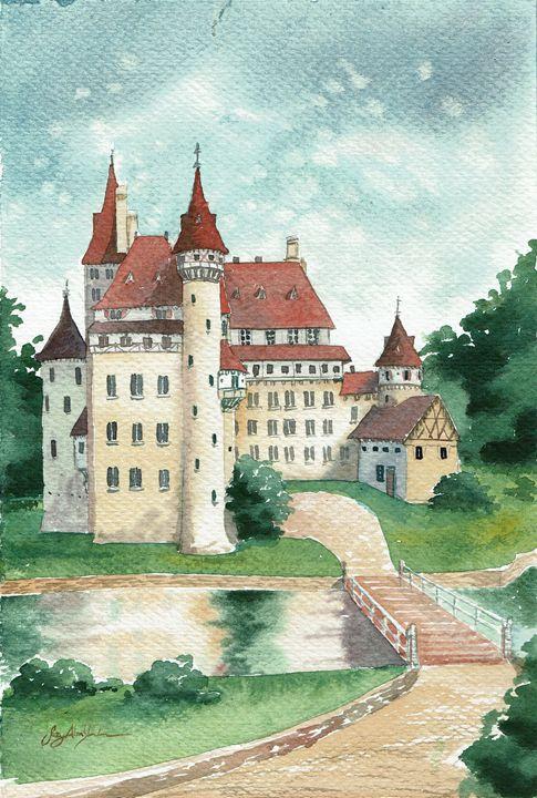 Castle Gschwendtner - Suzys Art