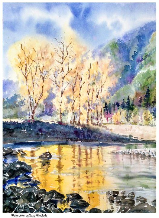 Aspen Lake - Suzys Art