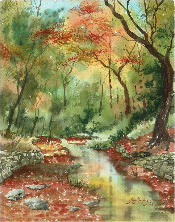Autumn Creek - Suzys Art