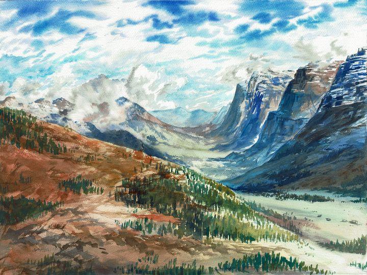 Swiss Alps - Suzys Art