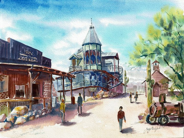 Goldfield Ghost Town - Suzys Art