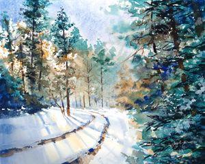 Turquoise Winter