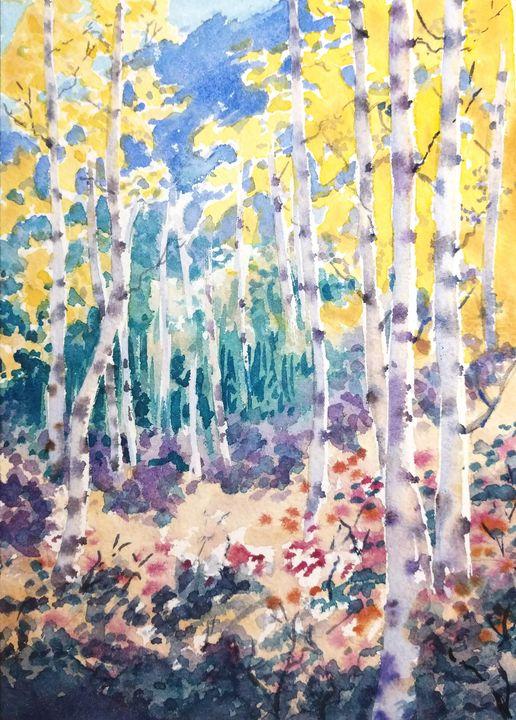 Colorful Grove - Suzys Art