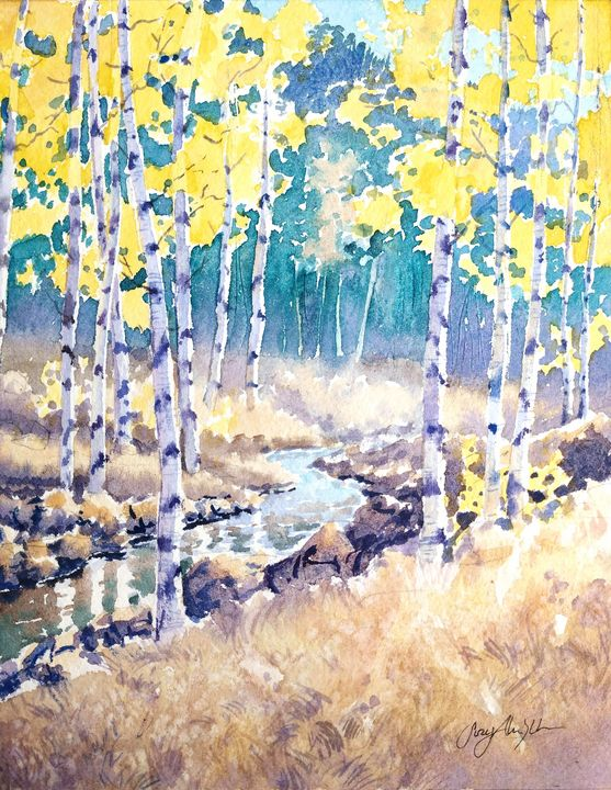 Aspen Creek - Suzys Art