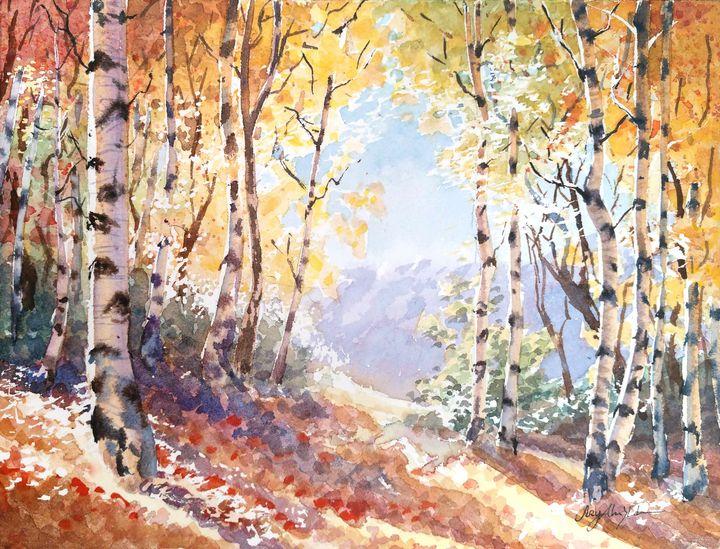 Autumn Fragrance - Suzys Art