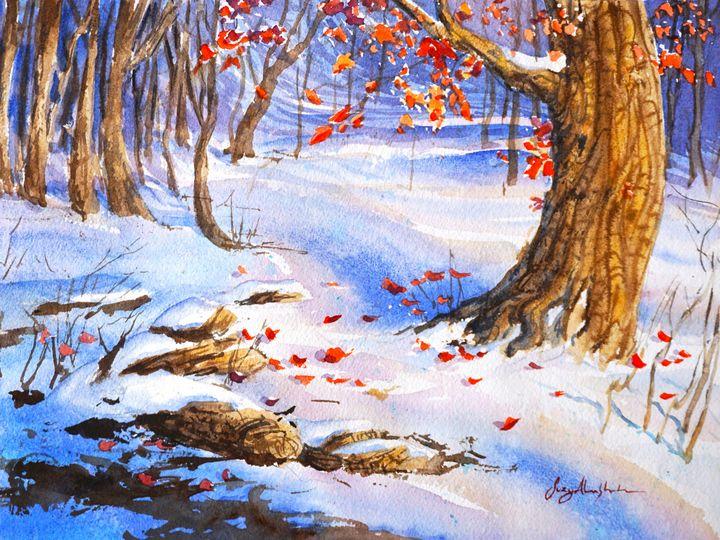 Arrival of Winter - Suzys Art
