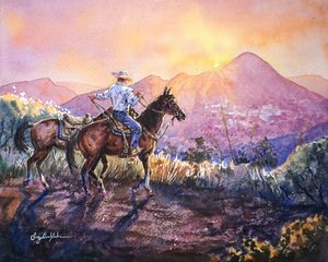 Heading Home to Jerome - Suzys Art